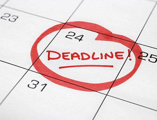 דדליינס מאוחרים לספטמבר 2019-ינואר 2020