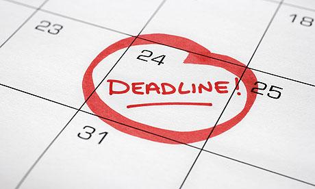 MBA Deadlines
