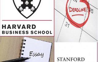 HBS-Stanford Deadlines-Essays
