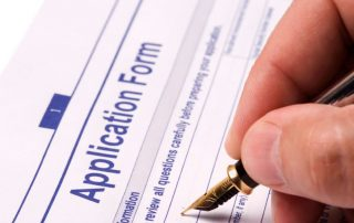 MBA application form