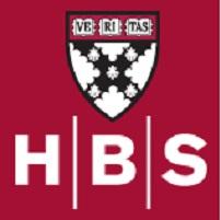 Harvard business school - הרוורד ביזנס סקול